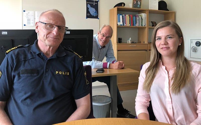 Lars Lindahl och Linnea Fändriks