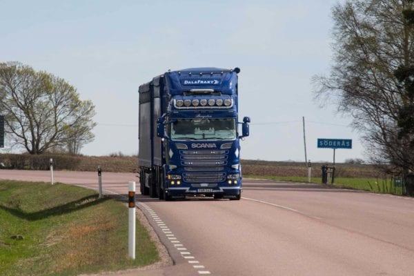 transport av trä- och betongvirke