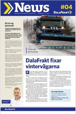 DalaFrakt News 4 2020